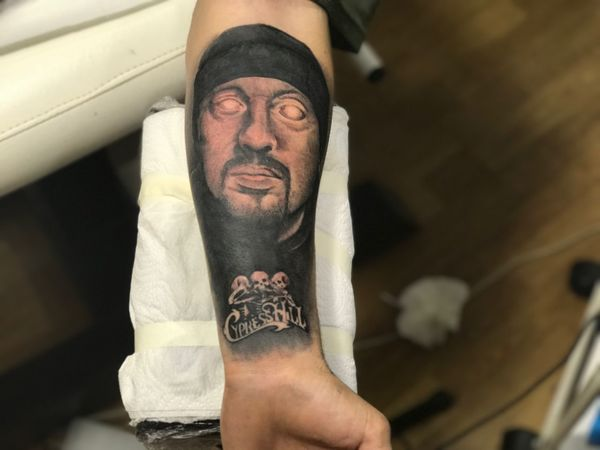 Cypresshill Sony Music Tattoo Real People One Person Human Body Part Day People
