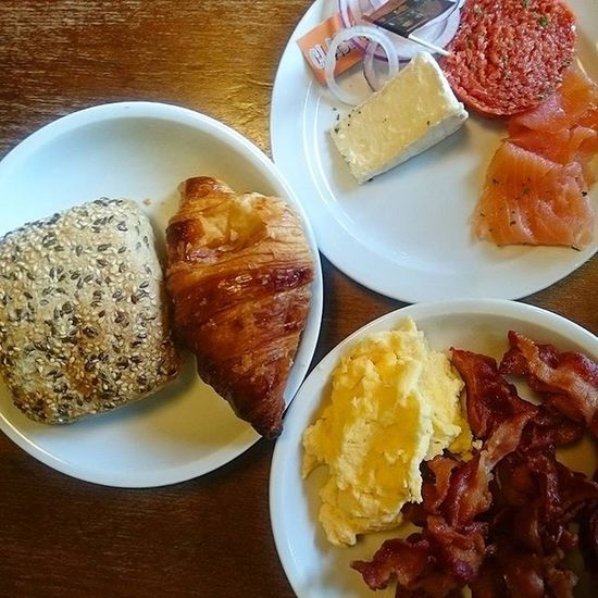 Breakfast for men. And women.