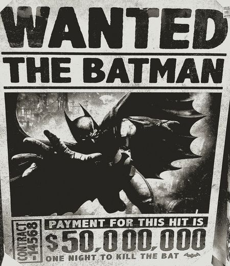 Batman Stuff Show Me The Money Blackandwhite WANTED. Where's Robin? $ 50000000 Black And White Black & White Wanted Poster $50,000,000 Wantedposter WantedPosters Posters Thebatman The Batman Batman. Batman Is In Town Reward Bountyhunters Bounty Hunters Bountyhunter Bounty Hunter One Night To Kill The Bat Batman Posters BatmanPosters To The Batcave To The Batcave! Where's My Batmobile?