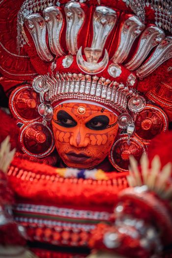 Theyyam of Kannur / Kerala - India Travelphotography Travel India Travel Photography Travelling Photography Travel Destinations Kerala India Kannur Incredible India Incredibleindia Portrait Of A Man  Portrait Photography Portrait Indiapictures Keralatourism Kerala The Gods Own Country ;) Theyyams Of Kannur Theyyam Red Celebration Close-up Art And Craft Festival Human Representation Craft Religion Ornate Mask - Disguise Event Representation