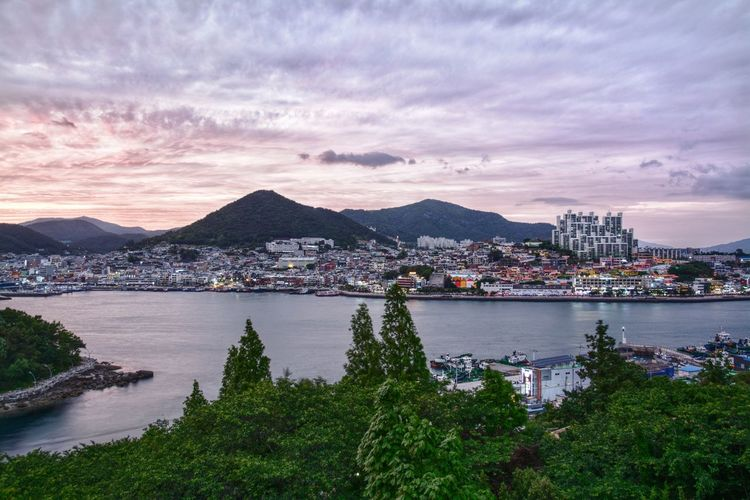 This is a city in South Korea, where many people visit every day. But this is the place in city, where many locals gather every evening. No wonder why. Lake Lake View Sunset South Korea Yeosu Dolsan Bridge Dolsan Park Snapseed Cityinthenight Cotyinheaven City In Heaven Serine Tranquility Tranquil Scene Tranquil City Cityscape Urban Skyline Mountain Water Sea Sunset Tree Harbor Sky View Into Land TOWNSCAPE Wide Shot Mountain Range Lakeshore
