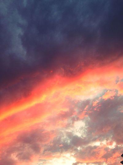Sky Clouds Colours Sunset Pink Orange Blue Chiloé, Chile Colours Of Nature Sky Porn Cloudporn