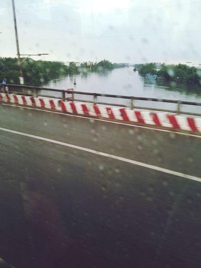 Road No People Wet Cloud - Sky Rain Rainy Season Window
