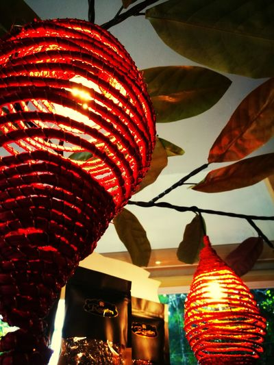 Handicraft Handmade Locals Love Of Nature Love Of Nation. Lantern Viewscape Interior Views Lines&Design Light And Shadow Indoors  Lines And Shadows City Multi Colored Red Close-up Modern Art
