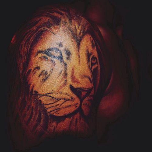 Tattoo Lion Like
