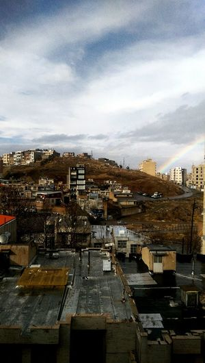 Iran Kermanshah Light Rain Beautyness Outdoors No People Complexity Clouds Sky Rainbow