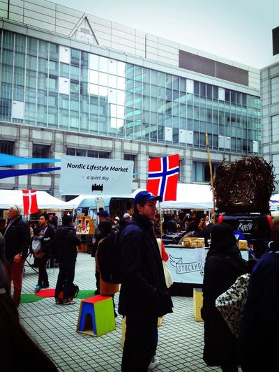 Norway Nordic Architecture Real People City Day People Building Exterior Built Structure City Life Aoyama Japanese  ノルディック ノルディックライフスタイルマーケット
