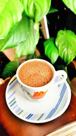 😍😍 Turkishcoffee Turkey Türkiye Türkkahvesi Drink Tea - Hot Drink Plate Saucer Table Coffee - Drink Frothy Drink Coffee Cup Close-up Sweet Food Hot Drink
