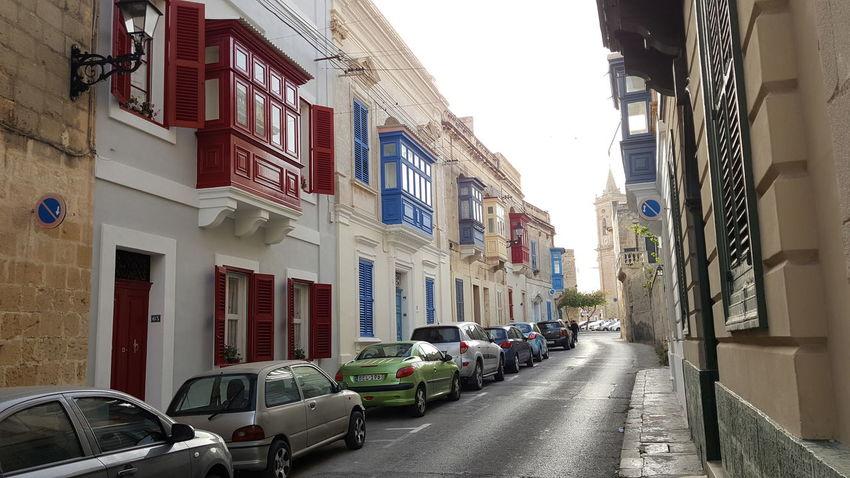 Streets of Balzan Built Structure Building Exterior Architecture Outdoors No People Car Sky Balzan Malta Maltaphotography
