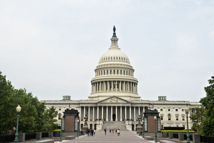 United States Capitol Building east facade - Washington DC United States Architecture Capitol City USA United States Washington, D. C. America Architectural Column Architecture Building Exterior Built Structure City Day Dome Falg Government History Outdoors Sky The Past Travel Travel Destinations