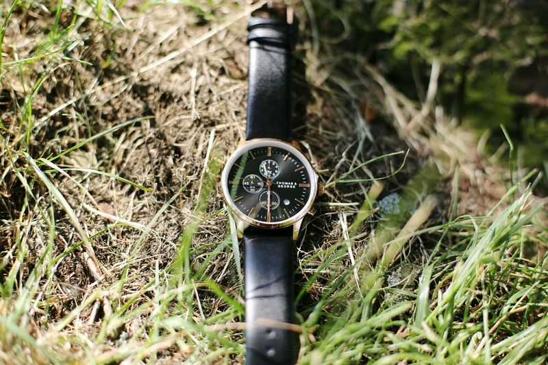 Diamond in the rough, new shot for watch brand Thomas & George. Watches Watches Of EyeEm Timepiece No People Day Grass Outdoors Watch Close-up Clock Face Nature Blogger
