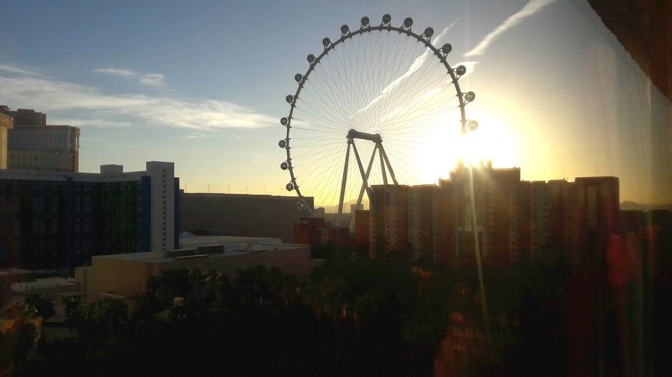 Vegas Morning Las Vegas Morning Ferriswheelinthecity🎡🎢