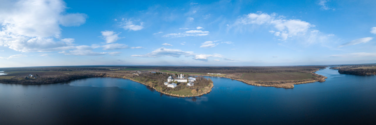 Caldarusani Monastery Aerial Shot Aerial Photo Drone  Drones Aerial Aerial Landscape Aerial Photography Aerial View Aerialphotography Aerialview Beauty In Nature Day Droen Drone Photography Dronephotography Droneshot Nature No People Outdoors Scenics Sky Tranquil Scene Tranquility Water Waterfront