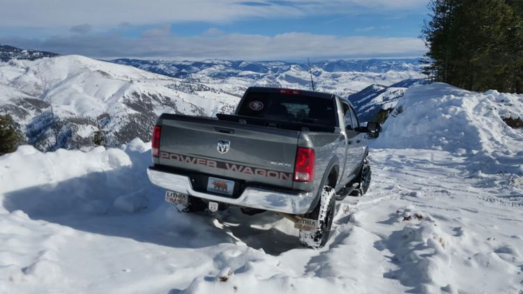 Winter Snow Extreme Weather Mountain Outdoors Beauty In Nature Landscape Winter 2015 Montana Beauty Montanalife Snow Covered 4x4 Ram Truck Wheelin ✌ Off Road Deepsnow 4x4 Travel Off-road Vehicle Power Wagon RAM Pick-up Truck Montana Winch Mob Dodge Ram  4x4 Trucks