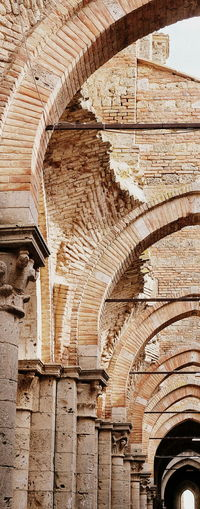 Church Arch Architectural Column Architecture Brick Building Built Structure Cloister History Monstery Old Tourism Wall