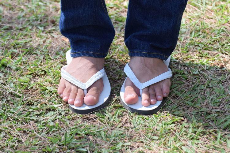 Sandals Switch Side Grass Men Reverse