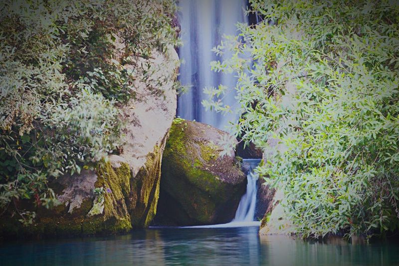 Water No People Outdoors Nature Waterfront Rock - Object Beauty In Nature Tranquility Scenics Day Waterfall Worldcaptures River Cave SPAIN Ronda Canon Summer ☀