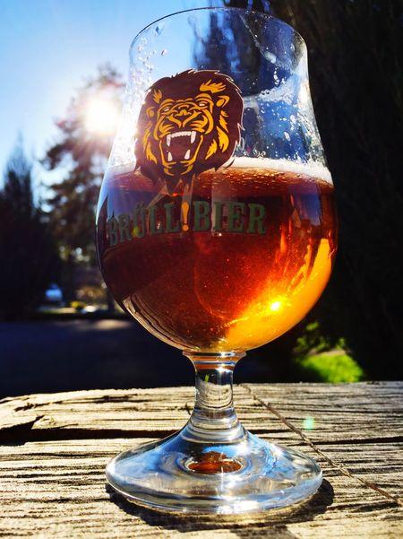 Feierabend Feierabendbier Frühling Spring Beer Brüll!bier Bier Hometime