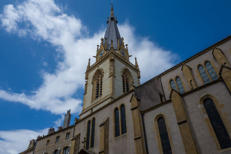 Low Angle View Of St Martin Church Against Sky