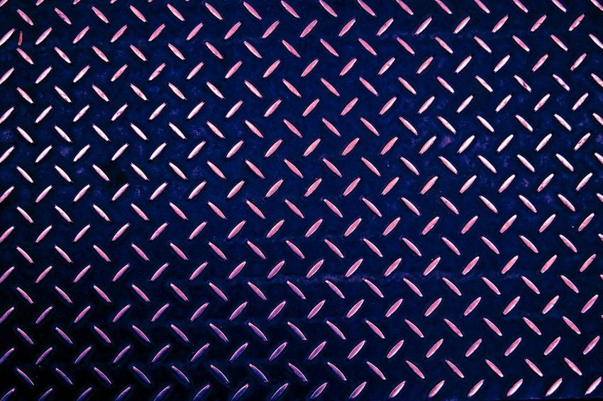 Backgrounds Pattern Textured  Metal Full Frame No People Close-up Be. Ready. Empty Illuminated Technology Diamond Plate Metallic Background
