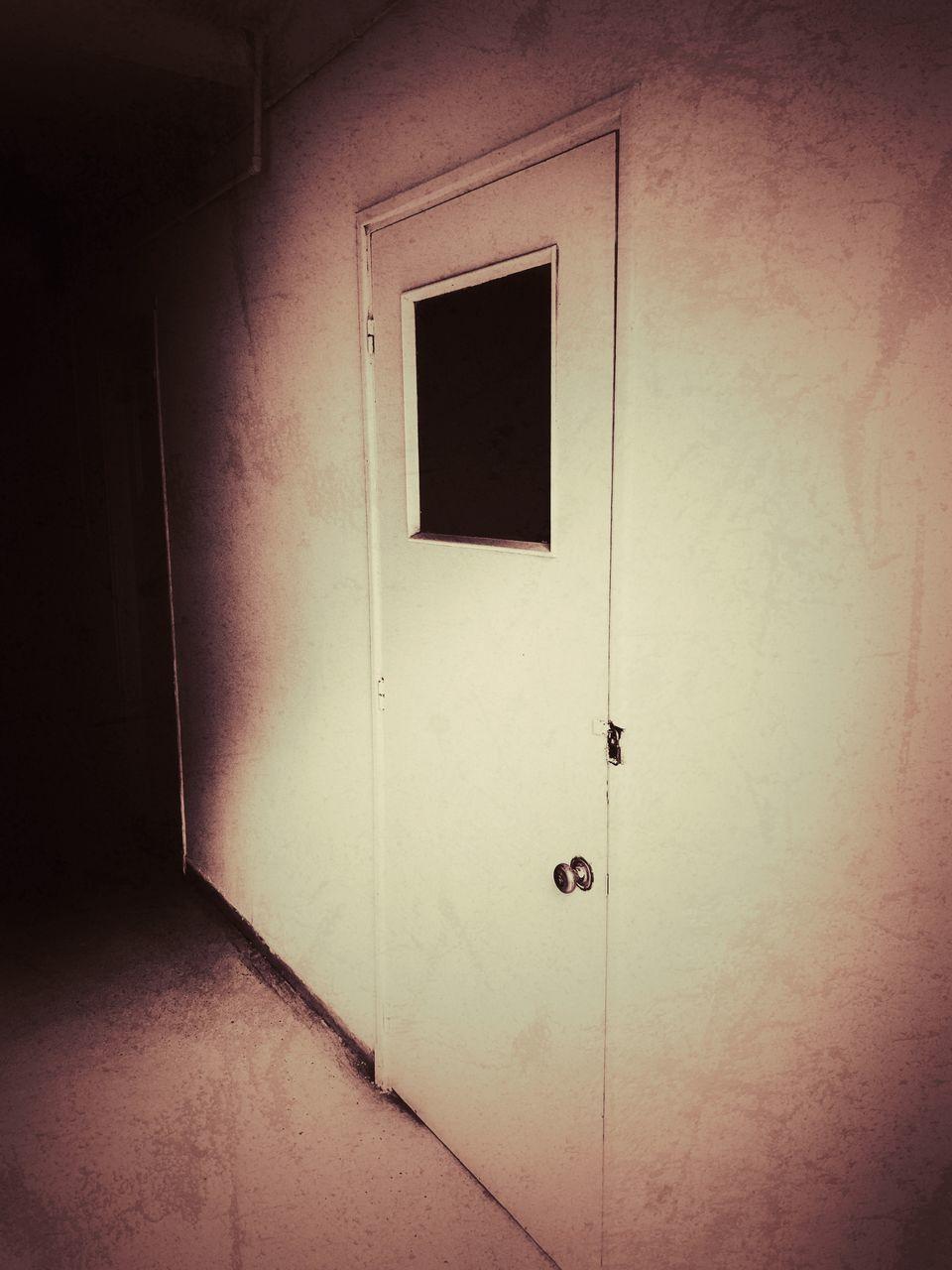 CLOSED DOOR OF WALL