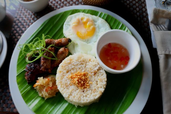My World Of Food Longsilog is a typical Filipino Breakfast of fried rice, egg, and longganisa. Longganisa is pork meat which is marinated and preserved with spices. Foodphotography Having Breakfast My Breakfast Moment