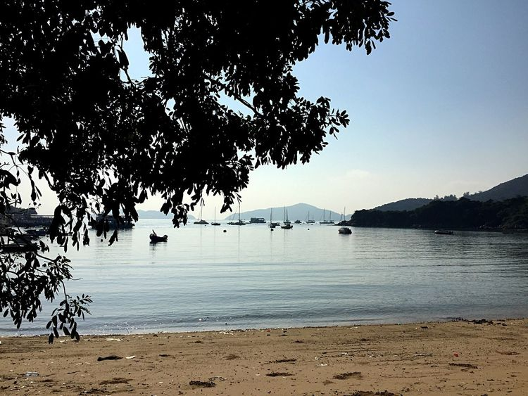 Quiet Moments On The Beach Sunny Day Wanderlust Wandering Around Aimlessly ASIA Sweet November Wanderer Walking Around Beautiful Day Beachphotography Hong Kong Discovery Bay Lantau Island I Love Hong Kong