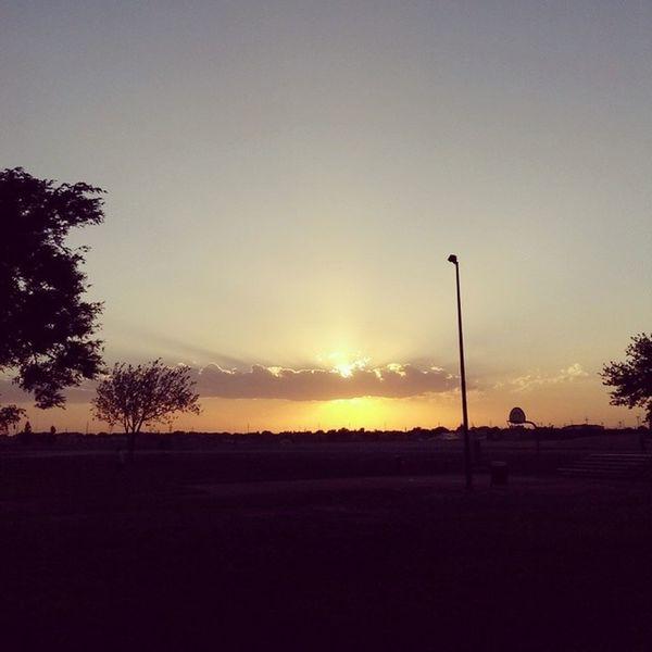 Todayssunset Sunset Westtexas Lubbock texas nature summer