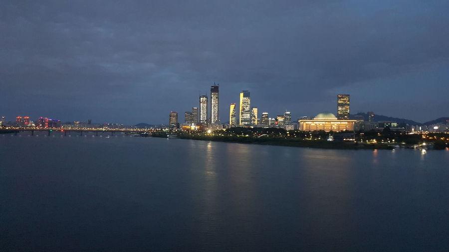Night view of