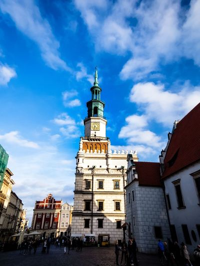 Town Hall. Town Hall Old Town The Week on EyeEm EyeEm Masterclass EyeEm Best Shots Architecture City Cityscape Clock Tower Sky Architecture Building Exterior Built Structure Cloud - Sky Bell Tower - Tower Historic Tower Tall - High Adventures In The City EyeEmNewHere The Architect - 2018 EyeEm Awards