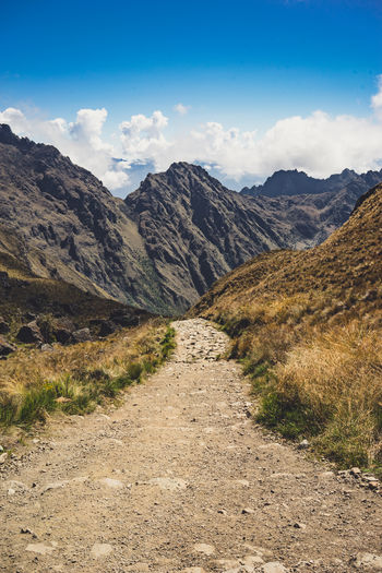 Pictures taken during the Inca Trail hike to Machu Picchu. Andewegonnaletitburn Asian  Backpacking Cusco Hiking Machu Picchu South America UNESCO World Heritage Site