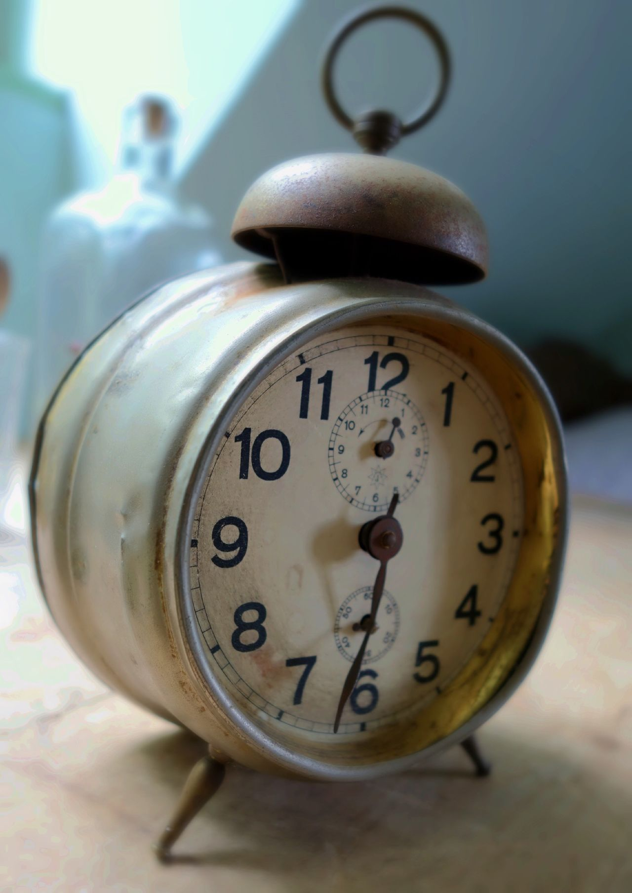 Alarm Clock, Clock, Clock Face, Close-Up, Focus On Foreground
