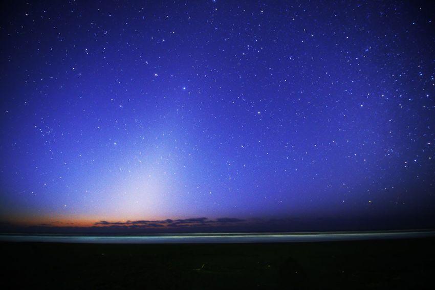 夜明け Night Star - Space Scenics - Nature Sky Space Astronomy Beauty In Nature No People Star Nature Sea