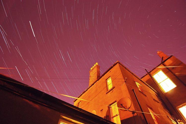 Startrails Nightphotography Stars