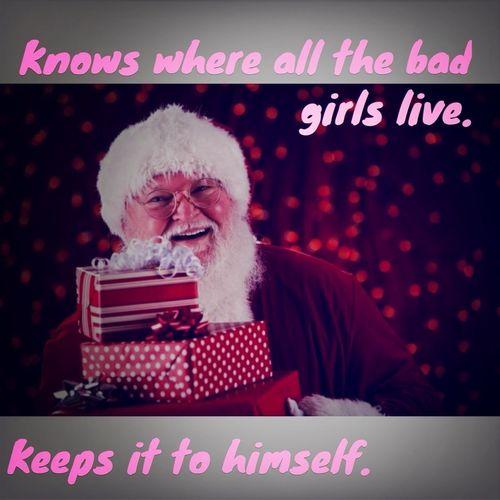 Santa Giving The D