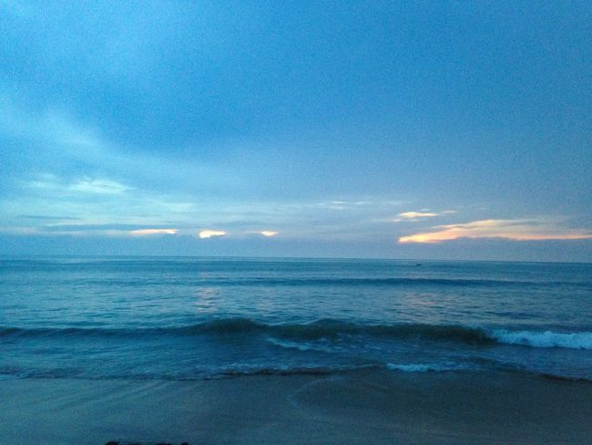 Blue seaview EyeEm Nature Lover Beach Beauty In Nature Blue Cloud - Sky Horizon Horizon Over Water Idyllic Kaolak Land Nature No People Outdoors Scenics - Nature Sea Sky Tranquil Scene Tranquility Travel Water Wave My Best Travel Photo