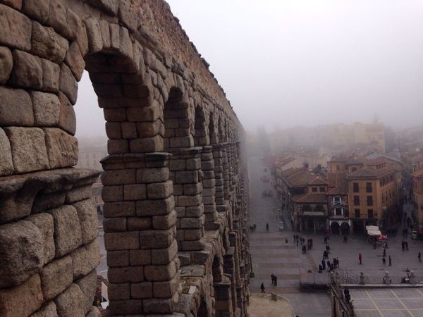 Built Structure Architecture History Building Exterior Clear Sky Ancient Travel Destinations Segovia España Segovia,spain Day Outdoors Ancient Civilization Sky Large Group Of People Finding New Frontiers