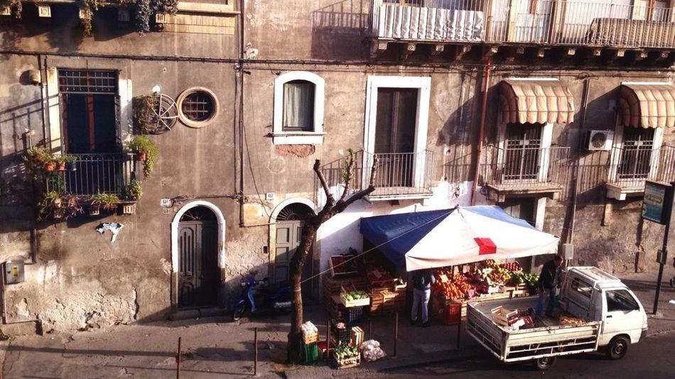 Old Street Sicily Italy