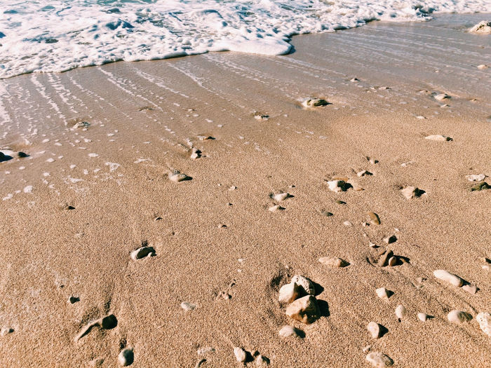 Sand beach and sea surf Background Beach Coast Day Foam Natural Nature No People Nobody Ocean Outdoor Outdoors Sand Seaside Shore Surf Texture Travel Water