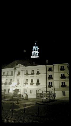 Oleśnica Ratusz Night