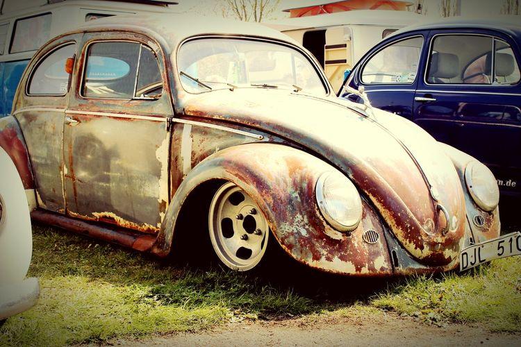 Käfer Käfertreffen Oldtimer Oldtimerautos Rost Old Car Vintage Cars