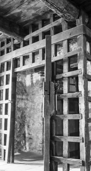 Montefusco Avellino Cella Carcere Borbonico BW_photography Bw Built Structure Architecture No People Building Exterior Day Wood - Material Building