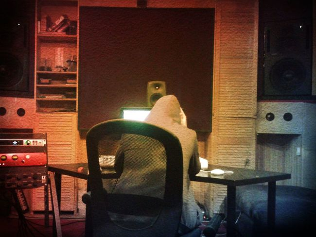 EnaelMusic beatmakingWhat Does Music Look Like To You? Studio Time  Silence Before The Storm