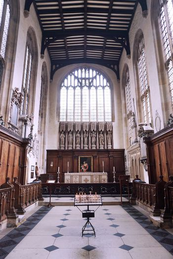 2017 Architecture Church Collage Day Indoors  Oxford Place Of Worship Religion United Kingdom University Church Of St Mary The Virgin Window イギリス オックスフォード セントメリー教会