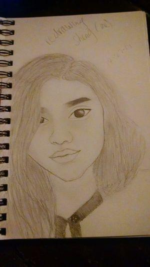 Drawing Myself Stillinprocess Sketching Realisticdrawing