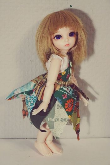 My sweet new doll. I called her Olivia! ❤❤❤ Dress Sewing BjdDolls Child Blonde Handmade By Me Hanging Out Handmade Beautiful Girl By Ctrayfi