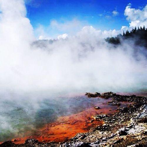 Wai O Tapu, Rotorua, Volcano, New Zealand, May 14