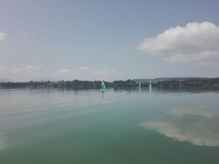 Water Lake Sky