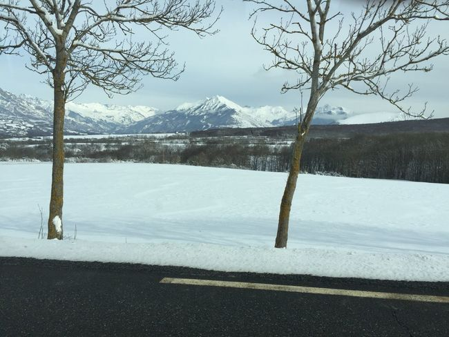 Snow Cold Temperature Winter Mountain Nature Scenics