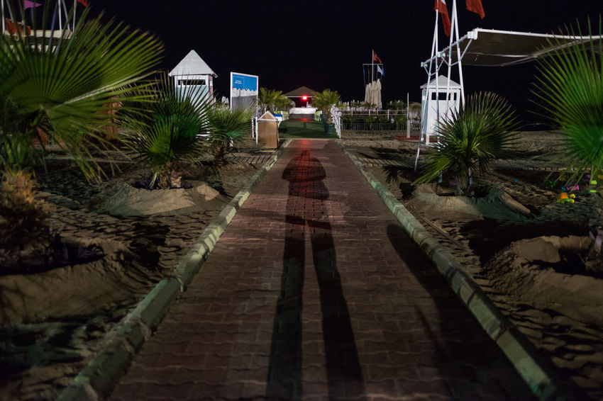 Antalya 2016 Architecture Built Structure City Delphin Diva Diminishing Perspective Footpath Illuminated Narrow No People Outdoors Pathway Plant Sky The Way Forward Turkey Vanishing Point Walkway